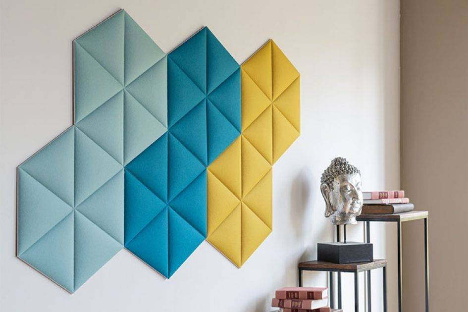 Acoustic Panels Can Be Absorber & Diffusers